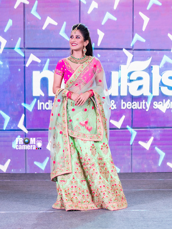 Georgette long gown with Dupatta